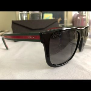 ccb1835ed8eae Gucci Accessories - Gucci GG 1118 S M1A 1E Matt Black Sunglasses